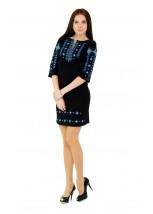 Платье вышитое женское М-1033-1