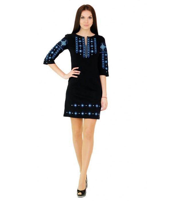 Платье вышитое женское М-1033-1, Платье вышитое женское М-1033-1 купити
