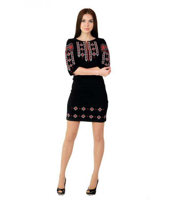 Плаття вишите жіноче М-1033, Плаття вишите жіноче М-1033 купити