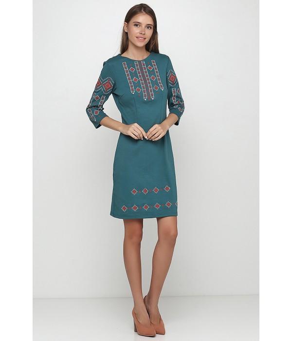 Платье вышитое женское М-1033-12, Платье вышитое женское М-1033-12 купити