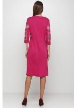 Платье вышитое женское М-1033-14