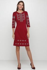 Платье вышитое женское М-1033-8