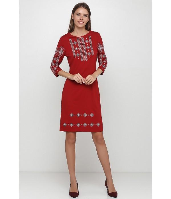 Платье вышитое женское М-1033-9, Платье вышитое женское М-1033-9 купити