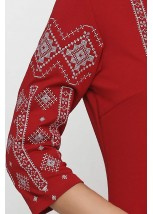 Платье вышитое женское М-1033-9
