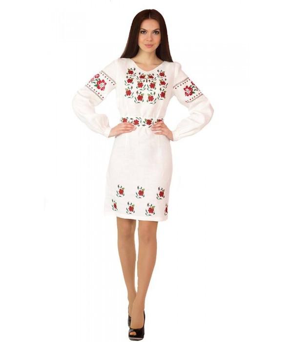Платье вышитое женское М-1034, Платье вышитое женское М-1034 купити