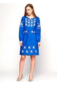Платье вышитое женское М-1034-5