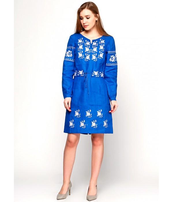 Платье вышитое женское М-1034-5, Платье вышитое женское М-1034-5 купити