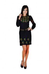 Платье вышитое женское М-1034-1
