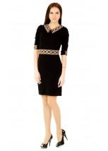 Платье вышитое женское М-1036