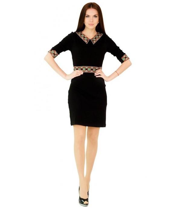 Платье вышитое женское М-1036, Платье вышитое женское М-1036 купити