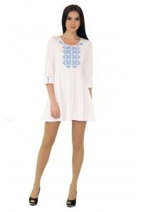 Платье вышитое женское М-1040-1