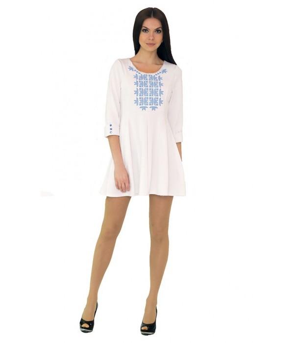 Платье вышитое женское М-1040-1, Платье вышитое женское М-1040-1 купити