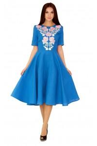 Плаття вишите жіноче М-1041