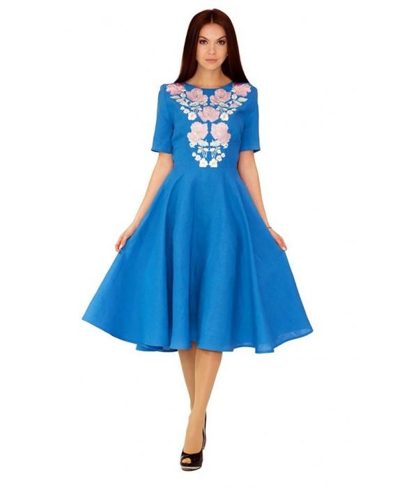 Платье вышитое женское М-1041, Платье вышитое женское М-1041 купити