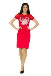 Платье вышитое женское М-1042-2