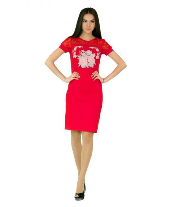 Платье вышитое женское М-1042-2, Платье вышитое женское М-1042-2 купити