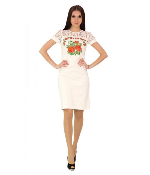 Платье вышитое женское М-1042-3, Платье вышитое женское М-1042-3 купити