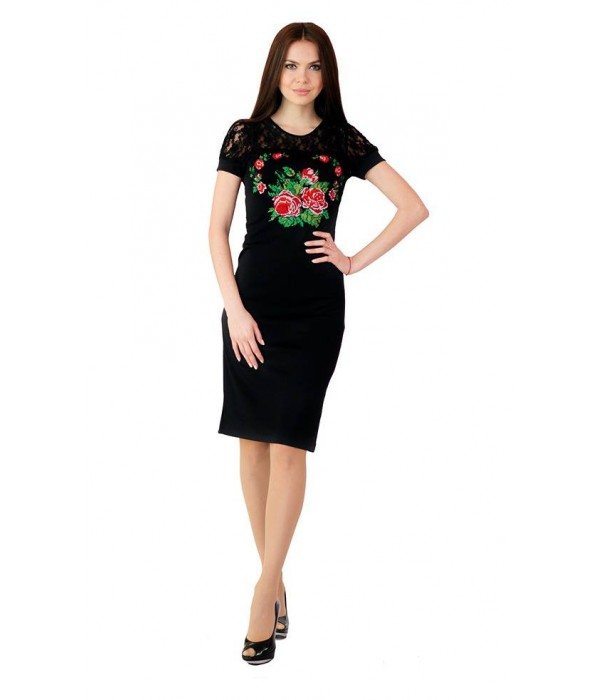 Платье вышитое женское М-1042, Платье вышитое женское М-1042 купити