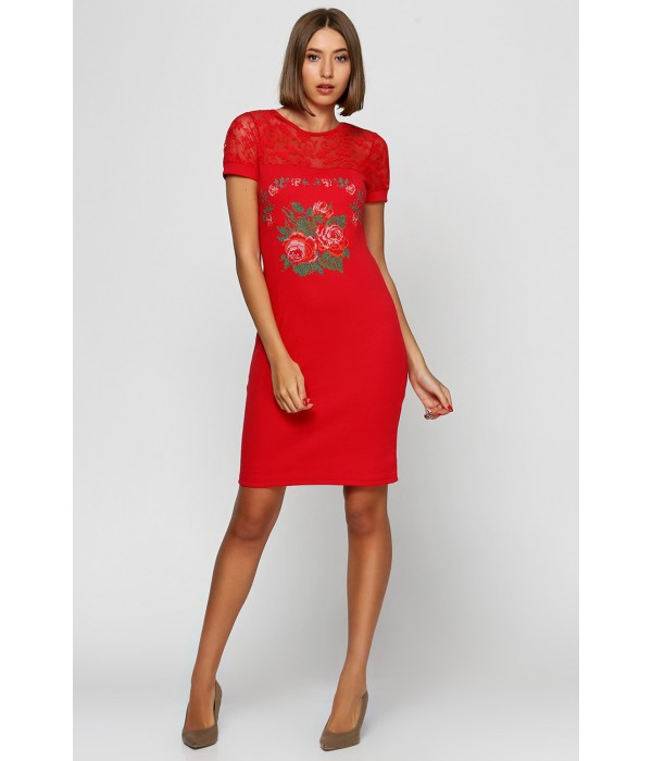 Платье вышитое женское М-1042-4, Платье вышитое женское М-1042-4 купити