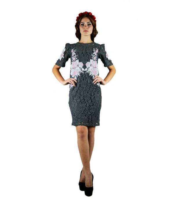 Плаття вишите жіноче М-1043-3, Плаття вишите жіноче М-1043-3 купити