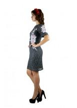 Плаття вишите жіноче М-1043-3