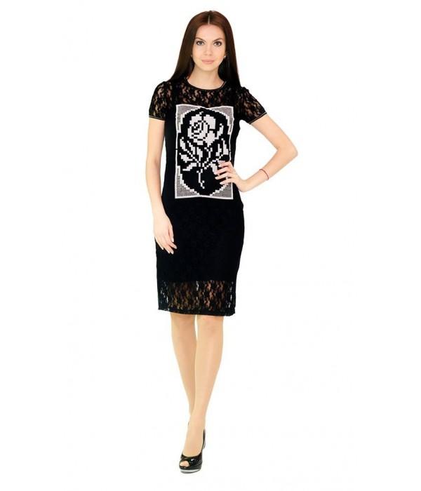 Платье вышитое женское М-1044, Платье вышитое женское М-1044 купити
