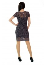 Платье вышитое женское М-1044-1