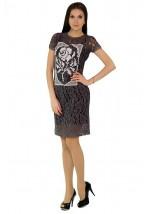 Платье вышитое женское М-1044-2