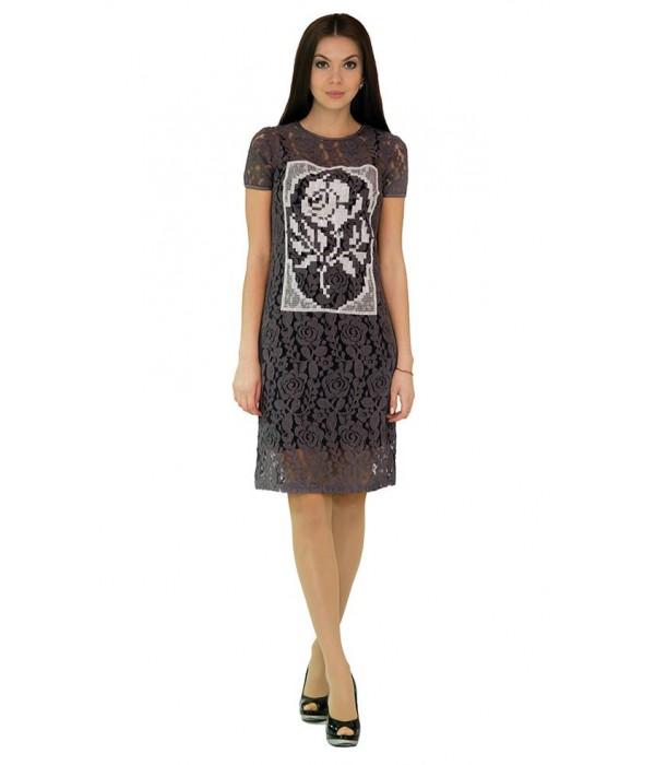 Платье вышитое женское М-1044-2, Платье вышитое женское М-1044-2 купити