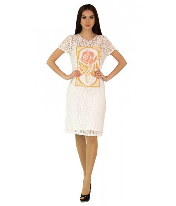 Платье вышитое женское М-1044-3, Платье вышитое женское М-1044-3 купити