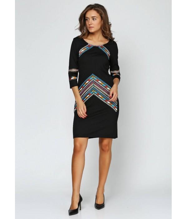 Платье вышитое женское М-1054-1, Платье вышитое женское М-1054-1 купити