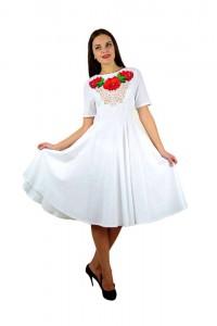 Платье вышитое женское М-1056-3