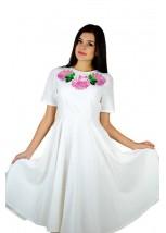 Платье вышитое женское М-1056-5