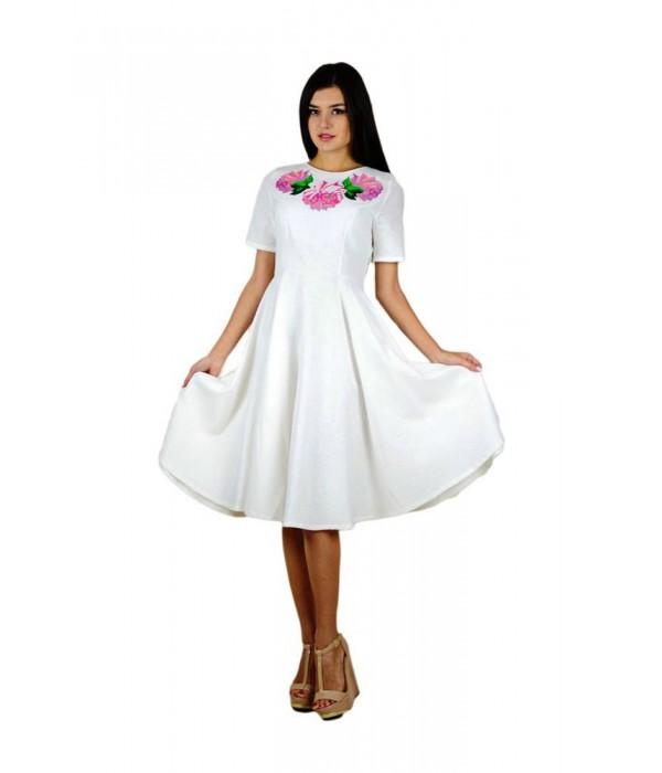 Платье вышитое женское М-1056-5, Платье вышитое женское М-1056-5 купити