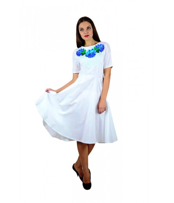 Плаття вишите жіноче М-1056-4, Плаття вишите жіноче М-1056-4 купити