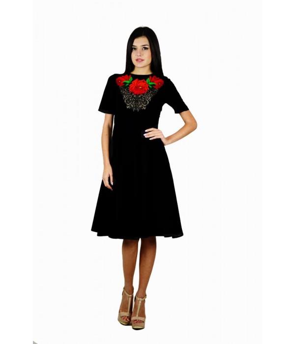 Плаття вишите жіноче М-1056, Плаття вишите жіноче М-1056 купити