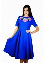 Платье вышитое женское М-1056-1