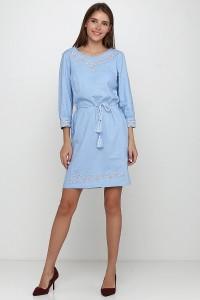 Платье вышитое женское М-1017-3