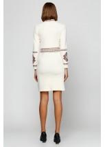 Платье Карпатское М-1026-3 Молочного кольору