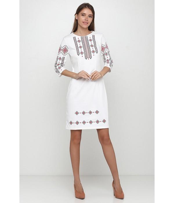 Платье вышитое Етномодерн М-1033-10, Платье вышитое Етномодерн М-1033-10 купити