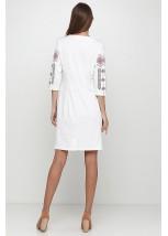 Платье вышитое Етномодерн М-1033-10
