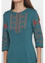 Платье вышитое женское М-1033-11