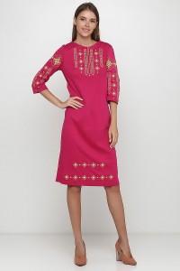 Платье вышитое женское М-1033-13