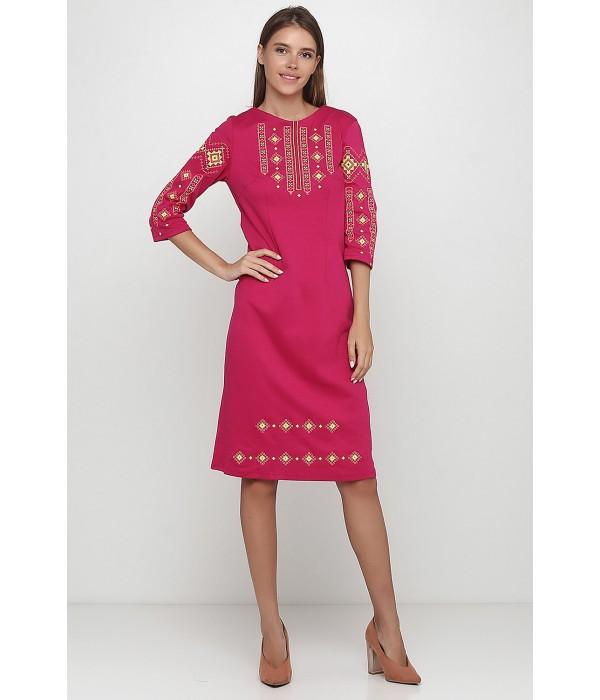 Плаття вишите жіноче М-1033-13, Плаття вишите жіноче М-1033-13 купити