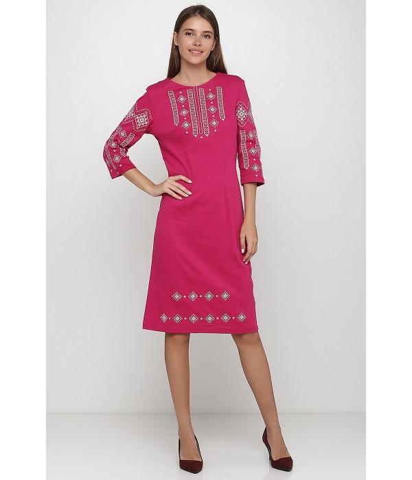 Платье вышитое женское М-1033-14, Платье вышитое женское М-1033-14 купити
