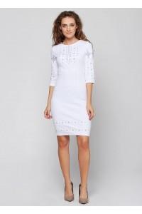 Платье вышитое женское М-1033-6
