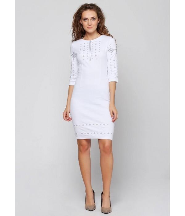 Платье вышитое женское М-1033-6, Платье вышитое женское М-1033-6 купити