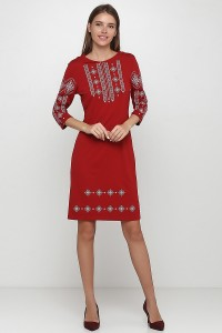 Платье вышитое Етномодерн М-1033-9