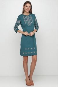 Платье вышитое женское М-1033-16