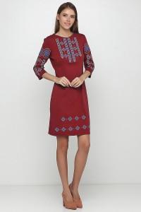 Плаття вишите жіноче М-1033-15